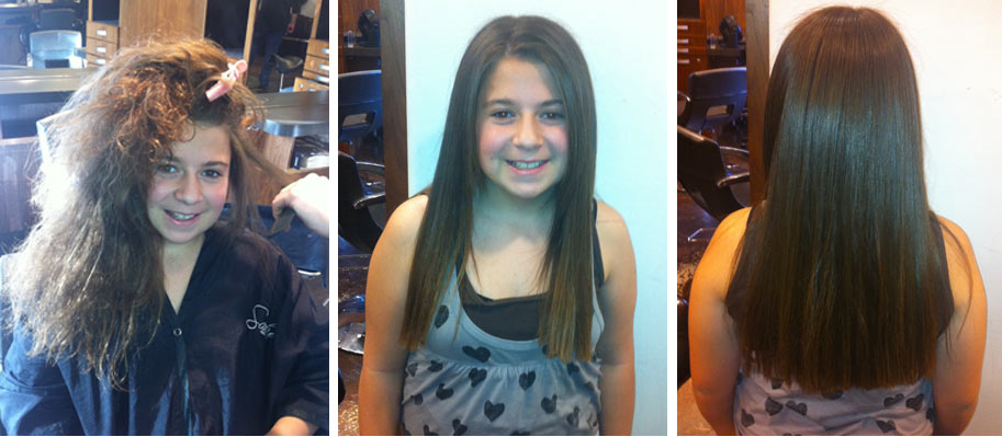 Example 3 of Brazilian Blowout Before After, Jodi Salvatore, Scottsdale Hair Stylist